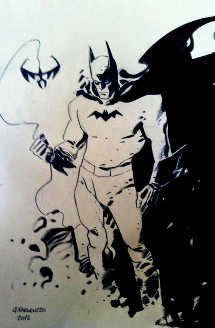 Batman b&w