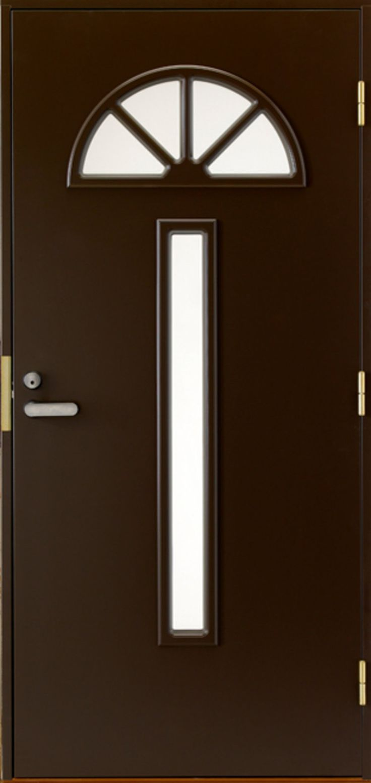 Kustomoitu ulko-ovi. - Customized front door.