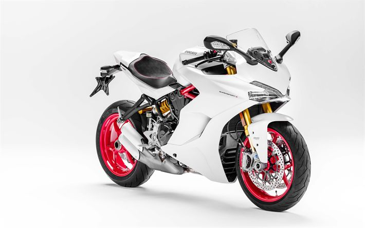 Lataa kuva Ducati 939 SuperSport S, 2017, Kilpa-moottoripyörä, urheilu moottoripyörät, Italian moottoripyörät, Ducati