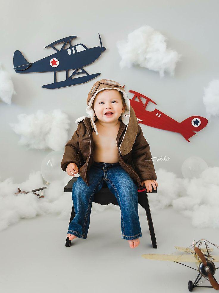 Набор для фотосессии самолеты