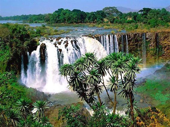 Mavi Nil Şelalesi