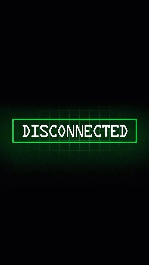 Disconnected | Dark green aesthetic, Glitch wallpaper ...