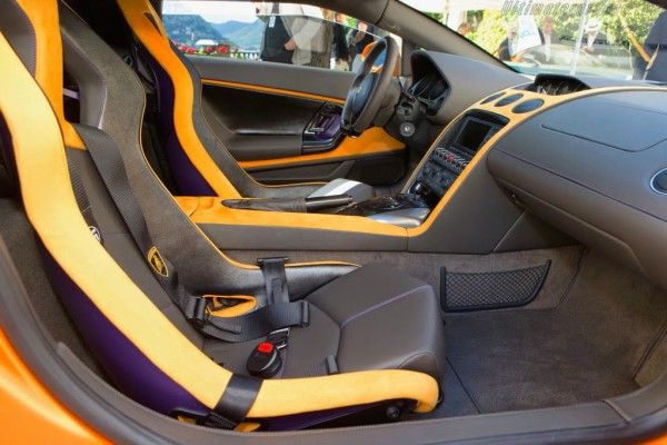 2014 Lamborghini 5-95 Zagato Interior
