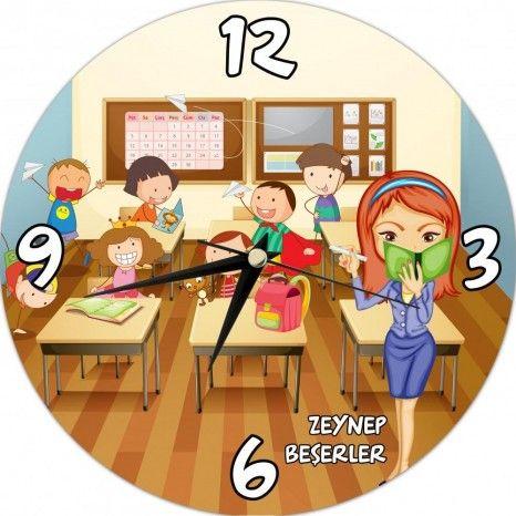 Kişiye Özel Öğretmenler Günü Duvar Saati