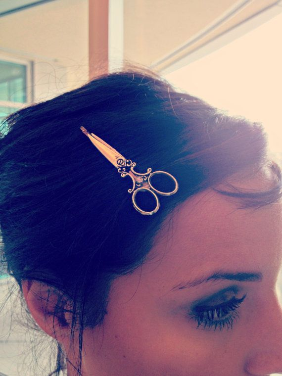 Set of 6 Scissor Bobby Pins  Best Seller  The by AnnabellandLouise