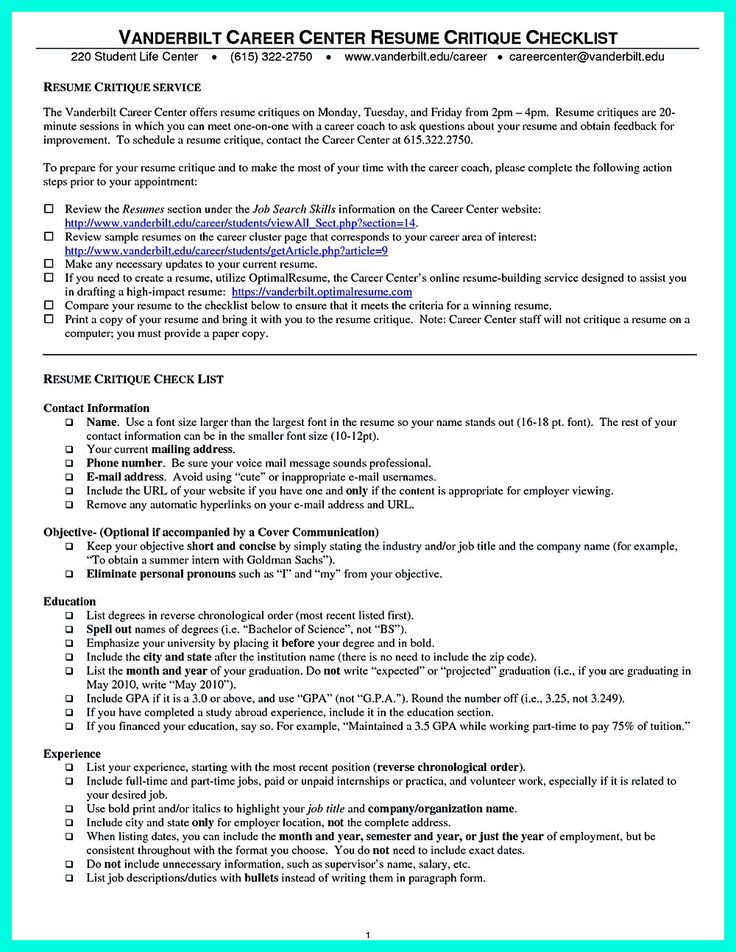 professional resume examples for college graduates resume resume critique - Professional Resume Critique