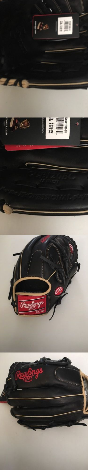 Gloves and Mitts 16030: Rawlings Gge120bc Black Beige Rht Baseball Glove Nwt -> BUY IT NOW ONLY: $69.99 on eBay!