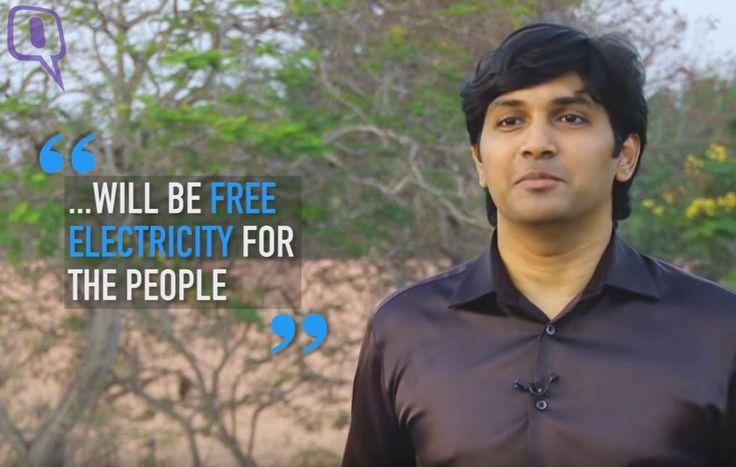 Arun et Anoop George, deux jeunes frères indiens ont développé une micro éolienne révolutionnaire. Le prix d'un telephone intélligent!