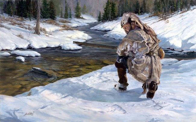 Jeremiah Johnson - The Trackers: Jeremiah Johnson, Western Art, House Stuff