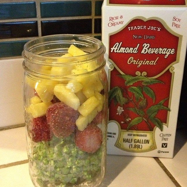 Add creaminess to you Green Smoothies and Juices with almond milk.