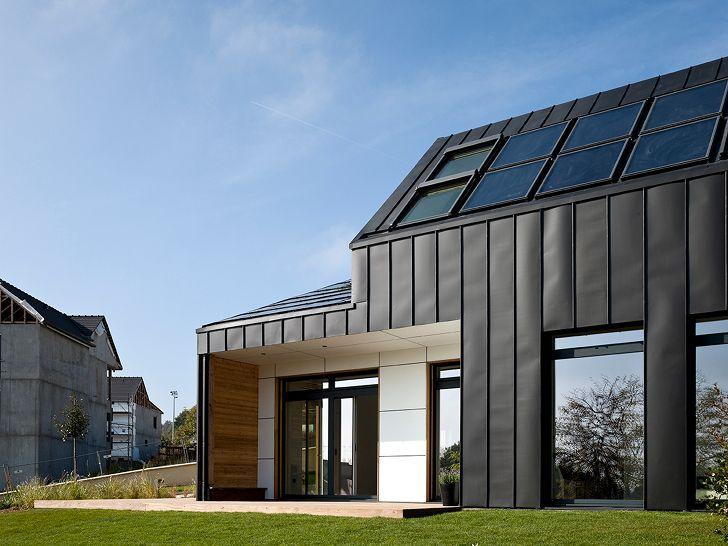 25 best maison en zinc images on Pinterest Extensions, Full sew in - agrandir sa maison sans permis de construire