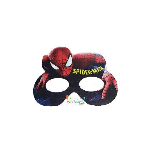 Spiderman MaskeÖrümcek Karton Maske Ürün ÖzellikleriÜrün Paketinde 6 Adet Spiderman Baskılı Maske bulunur.Karton Maske kaliteli kartondan üretilmiş olup, canlı renklere sahiptir.Örümcek Adam temalı maskeler lastikleri ile birlikte gönderilir ve çocuk yüzüne uygun olarak üretilmiştir.Çocuğunuza ve ge