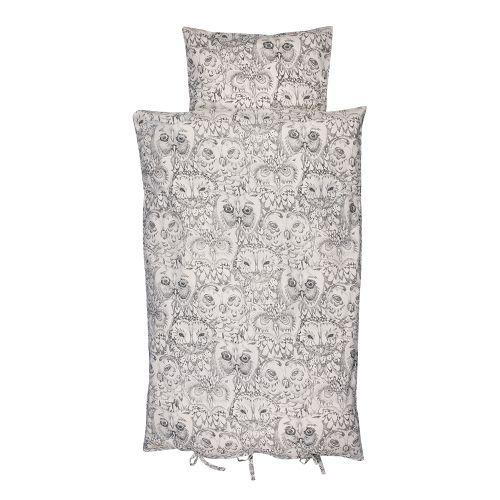 SOFT GALLERY ♥ BED SHEET AOP OWL
