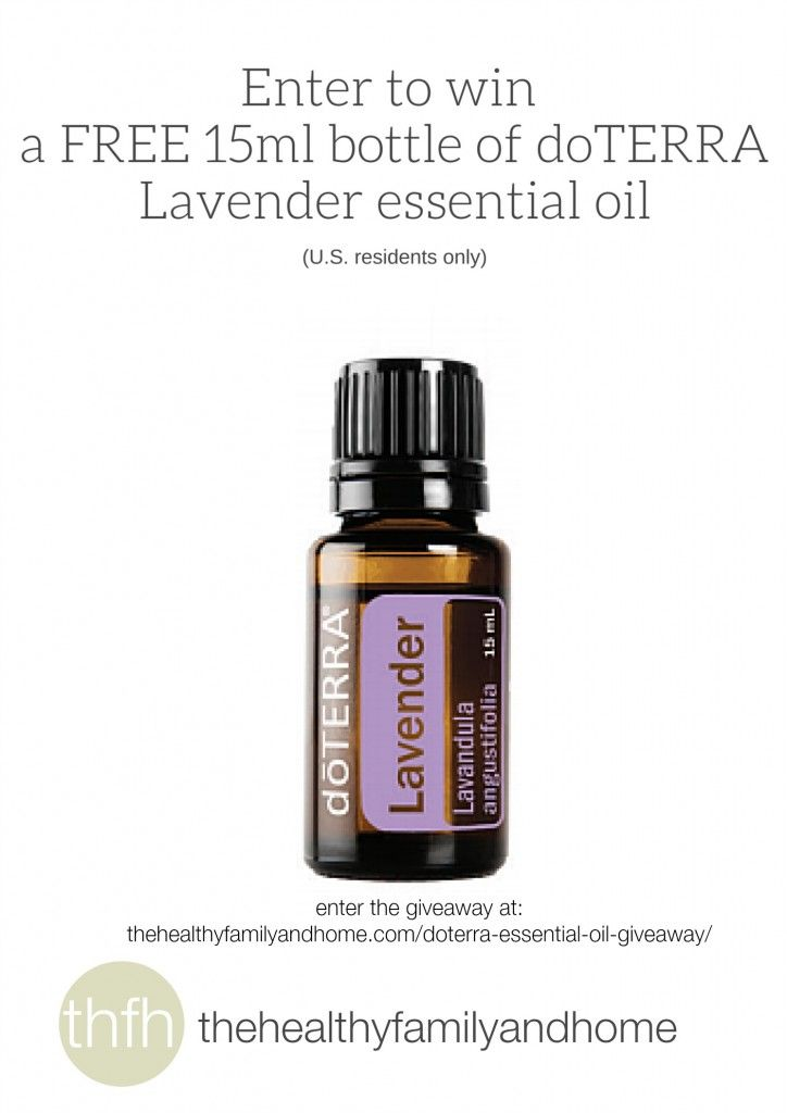 doTERRA Essential Oils Giveaway | The Healthy Family and Home