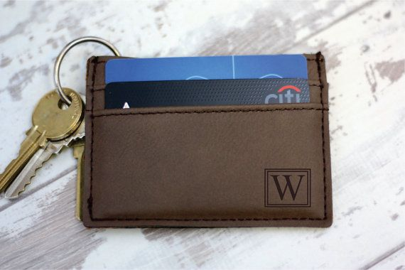 Personalized Money Clip  Money Clip Wallet  Engraved by HudsonLace