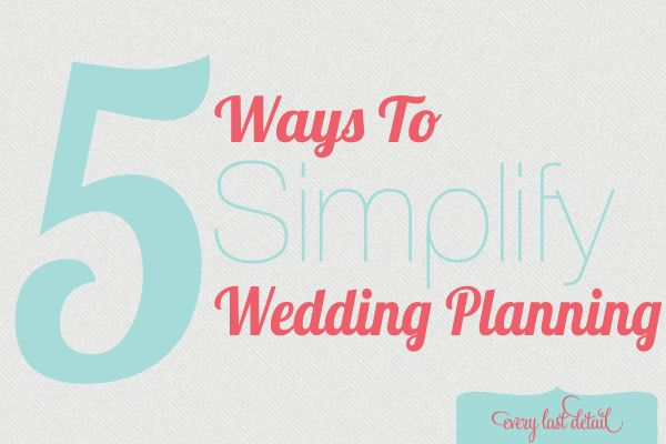 Simple wedding plan  #weddingtips #weddingbudget brieonabudget.com/