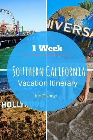 Travel Itinerary: 1 Week in California (no Disney) - Peanuts or Pretzels