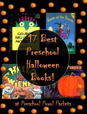 Best Preschool Halloween Books (from Preschool Powol Packets)