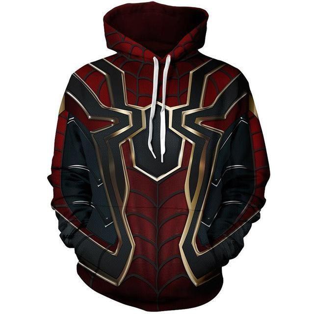 Marvel Avengers Men Hoodie Camo Hooded Sport Sweater Sweatshirts Pullover Jacket