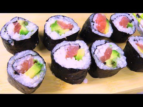 SUSHI FAI DA TE Come al Ristorante!!! #2 Hosomaki | Carlitadolce - Sushi...