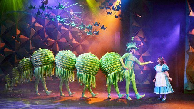 alice in wonderland caterpillar costume | work of art: Repertory PH's 'Alice in Wonderland'