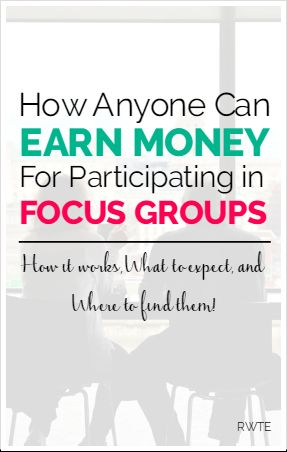 How anyone can earn extra money by participating in focus groups. This post contains info on how focus groups work, what to expect, and where to find them.