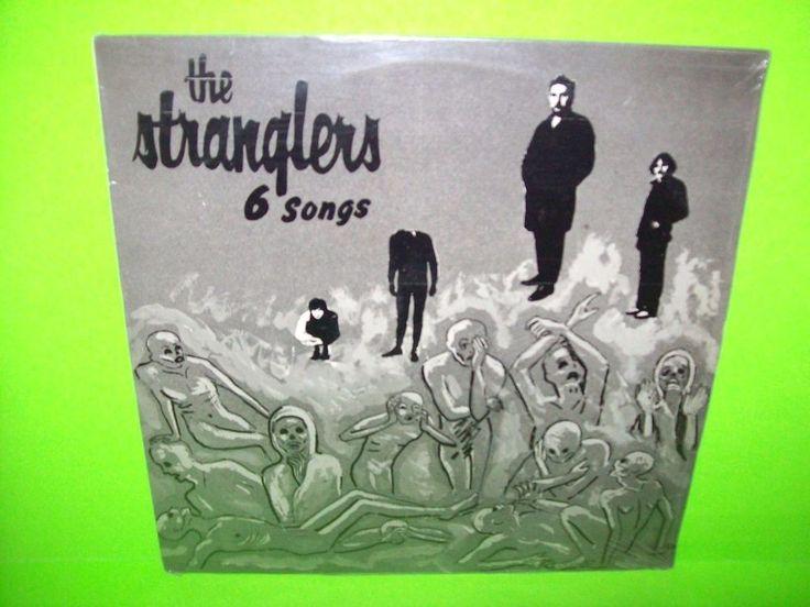 The Stranglers – 6 Songs Vinyl LP Record 1986 Punk Rock Post-Punk SEALED Rare #PunkGothRockPostPunkNewWaveAlternativePunkPostPunkNewWaveAlternative