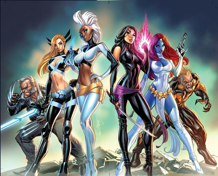 X-Men by J. Scott Campbell & Nei Ruffino - Kamisama.fr - Artwork, Cosplay, Manga, Sexy, Otaku, Geek, Comics // 神様