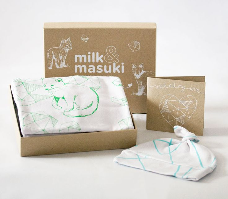 Newborn gift pack - blue/green