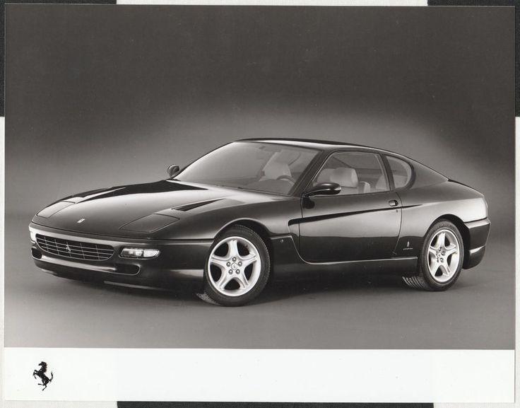 1992 FERRARI 456 GT COUPE ORIGINAL PERIOD FACTORY PRESS PHOTOGRAPH FOTOGRAFIA