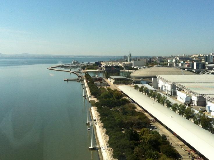 Lisbon Myriad Hotel view #Portugal
