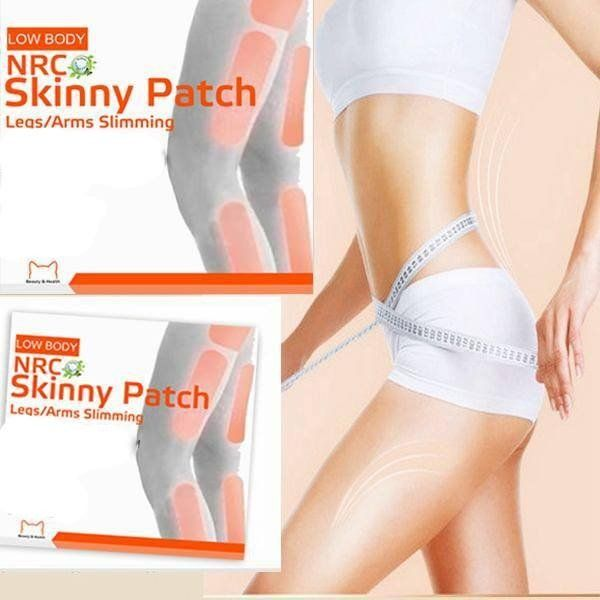 100% HERBAL NRC  LEGS/ARMS SLIMMING PATCH 18pcs/pack