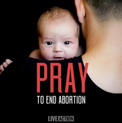 Yes. This is a topic that desperately needs prayer. We need to pray that God will change people's hearts to realize the sin that they are committing when they take part in abortion.