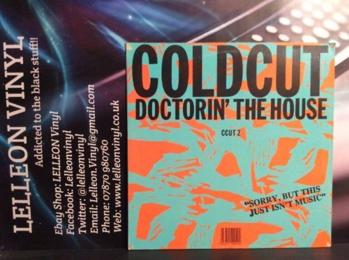 "Coldcut Doctorin' The House 12"" Single Dance Pop 90's Music:Records:12'' Singles:Dance:House"