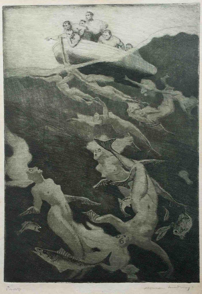 Norman Lindsay - Quest, 1913