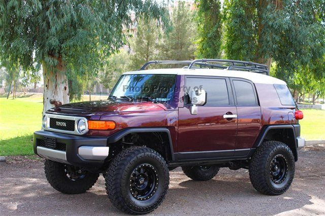 FJ Cruiser Lifted | 2007 Toyota Fj Cruiser Mesa
