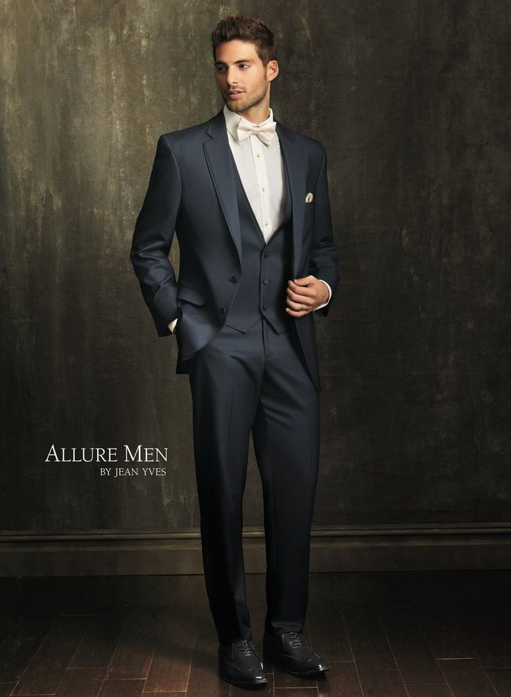 allure slate blue bartlett modern fit tuxedo