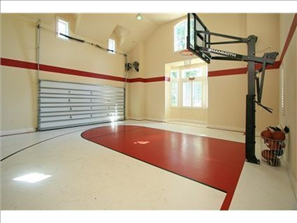 One of the coolest indoor basketball courts ever!