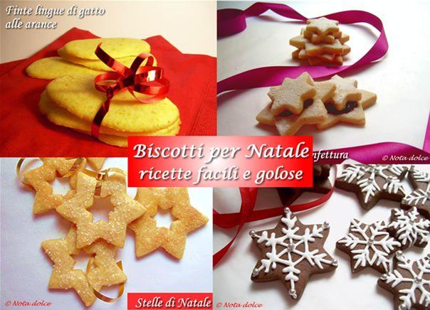 Biscotti per Natale 2013, ricette facili e golose