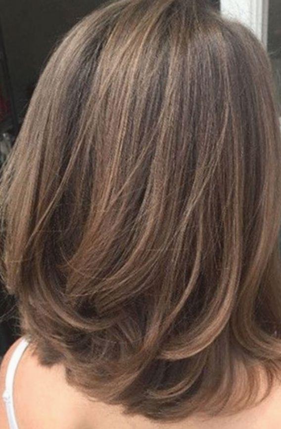 Hairstyles 2019 Videos Midlength Rosegoldhair Mauvehair Pinkhair Hair Styles Medium Hair Styles Medium Length Hair Styles