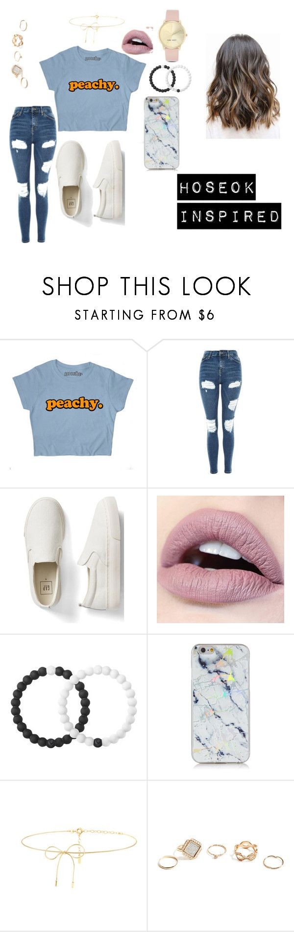 """""""BTS INSPIRED OUTFITS"""" by btsmyhearteu on Polyvore featuring Topshop, Gap, Lokai, Lilou, GUESS and Nine West"""