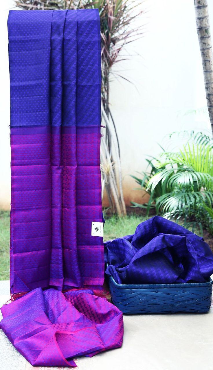 Lakshmi Handwoven Kanjivaram Silk Sari 1000024 - Sari / Kanjivarams - Parisera