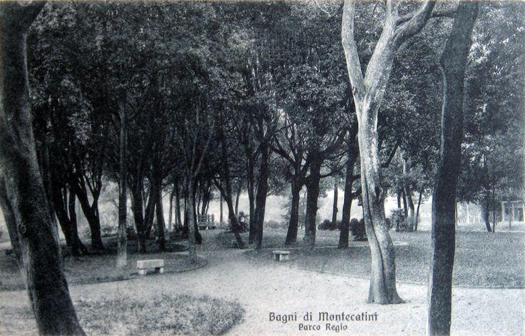 Montecatini Terme, cartolina degli anni '20.