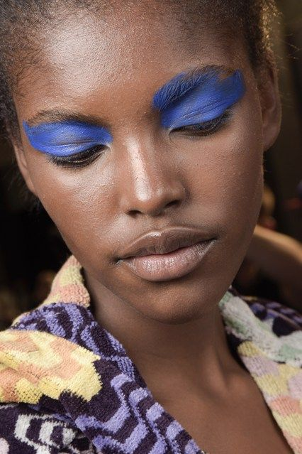 Missoni Spring Summer 2016 Hair And Make-Up Backstage (Vogue.co.uk)