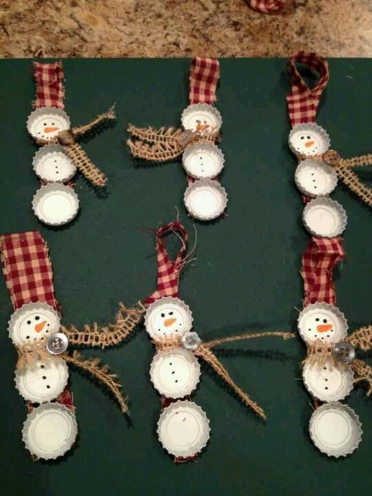 47 best images about bottle cap crafts on pinterest for Bottle cap christmas crafts
