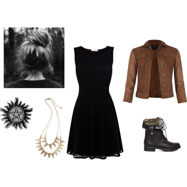 """""""Supernatural: Hunter's Outfit"""" by igreykitty1d on Polyvore"""