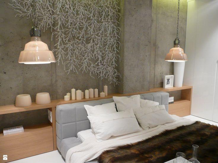 apartament pokazowy Hossa - Sypialnia - Styl Minimalistyczny - emDesign home & decoration