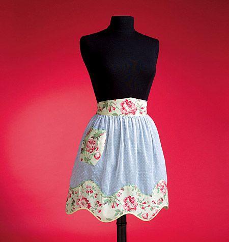 Vintage+Apron+Patterns+Free | ... Vintage Aprons pattern Catalog > Ladies 1950's Vintage Aprons pattern