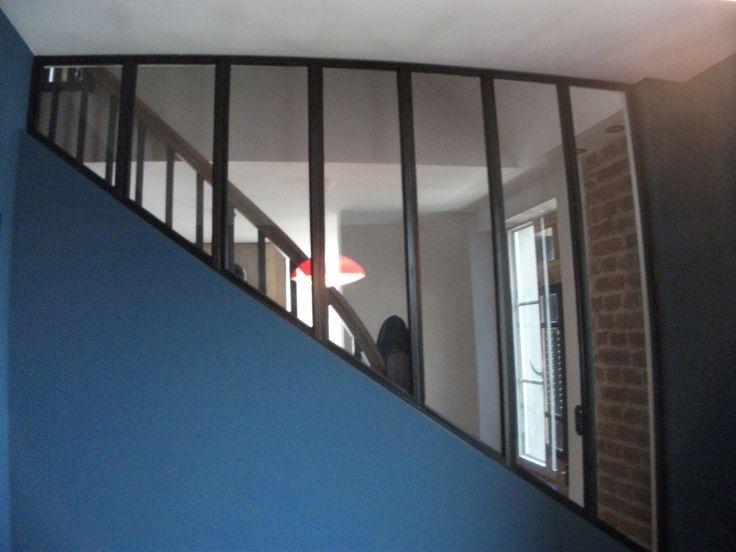 Verrière type atelier d'artiste - Verrière 68 - Verrière Alsace - Verrière Haut-Rhin - Baie vitrée acier- Vitrage feuilleté type Stadip