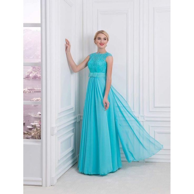 Nádherné spoločenské šaty s opaskom